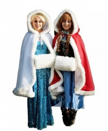 Womens Winter Hooded Bridal Christmas