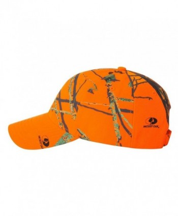 Kati Hunter's Structured Camo Cap- Mossy Oak Break-Up Blaze Orange- Adjustable - CN118N77LW9