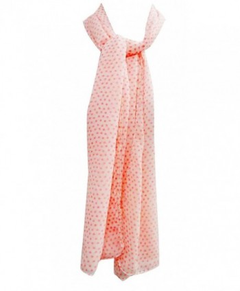 "100% Cotton Soft Scarf Stole Shoulder Women Wrap Scarves India 20"" x 70"" Inches - Salmon - CV11O6MN1SD"