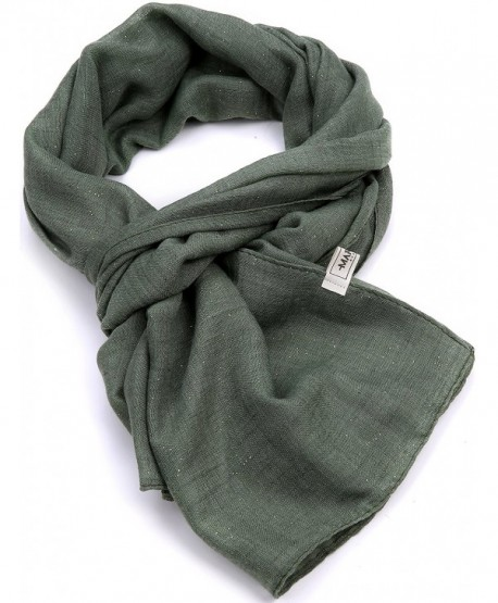 Womens Fashion Scarf- Long Lightweight Scarf- Shawls For Women - Camouflage Green - C712O45PJCW