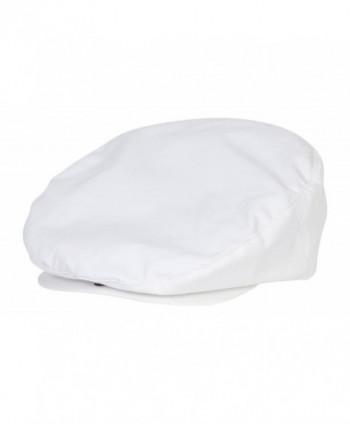 Poplin Ivy Hat by Dorfman Pacific (White) - C51128KPZYD