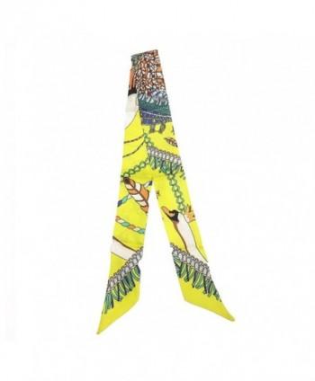 SilRiver Necktie Headbands Hairbands Accessories