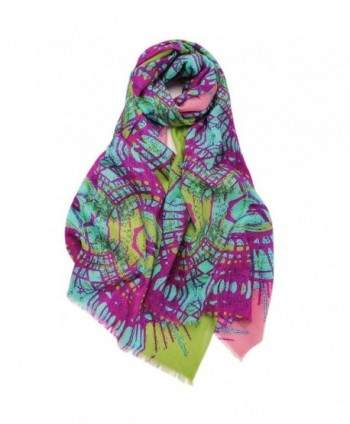 Shawl ZORJAR Fashion Scarves Printing Multicolor - Multicolor 6 - CI127AIGR39