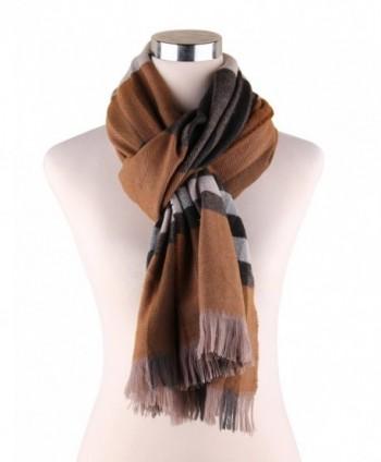 Plaid Blanket Scarf Pashmina Scarves in Wraps & Pashminas