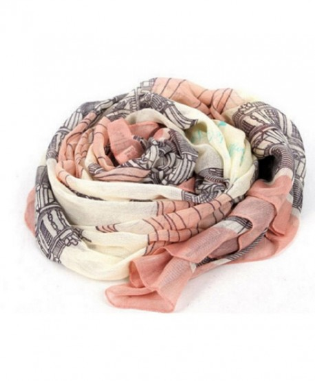 RICCOS (TM) Women Fashion Chiffon Elegant Long Print Scarf Wrap Ladies Shawl - CY12N36WVNB