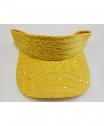 Florida Hat Company Glitter Yellow