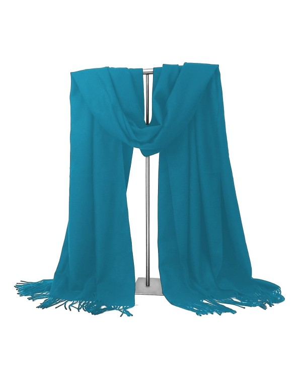 Valentines LERDU Ladies Cashmere Fashion - Blue - CC12OCOHPWD