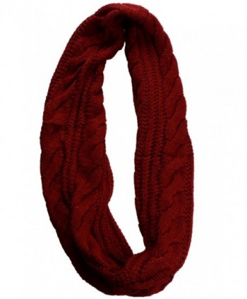 NEOSAN Womens Ribbed Winter Infinity in Wraps & Pashminas
