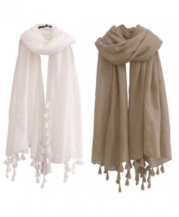Lightweight Plain Scarf Tassels inches - 102navy and Red Wine - CA187IO4LQ4