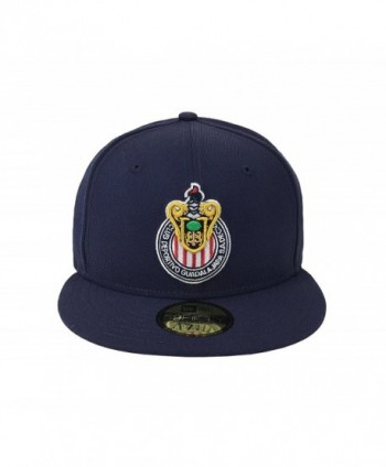 c1f4e4217b7 New Era 59Fifty Hat Chivas De Guadalajara Liga MX Soccer Navy Blue Fitted  Cap - C917YR5RYHI  New Era 59Fifty Chivas Guadalajara ...