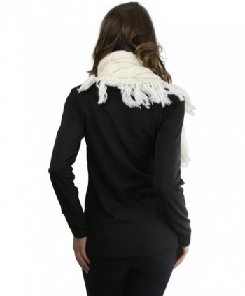 ToBeInStyle Heather Shoulder Coconut Buttons in Fashion Scarves