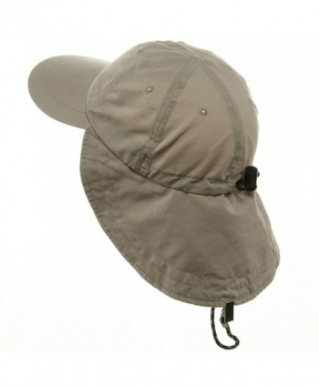 MG Microfiber Cap with Flap Khaki