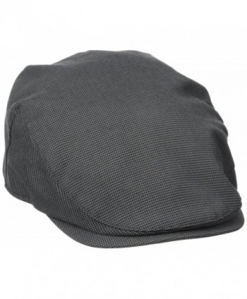 Dockers Men's newsboy IVY Hat - Charcoal - C512N6EKXLD