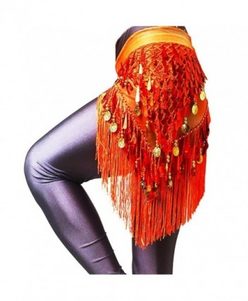 LAFIZZLE Color Belly Dancing Colorful in Fashion Scarves