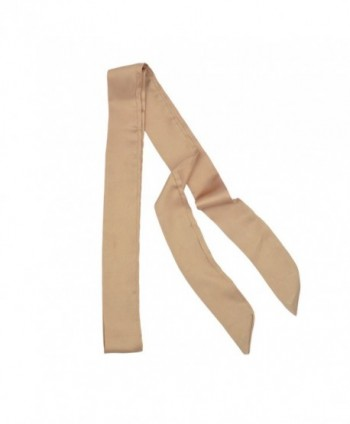 IvyFlair Skinny Scarf Choker Camel