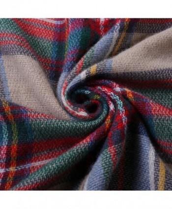 Roundeel Blanket Tartan Winter Scarves