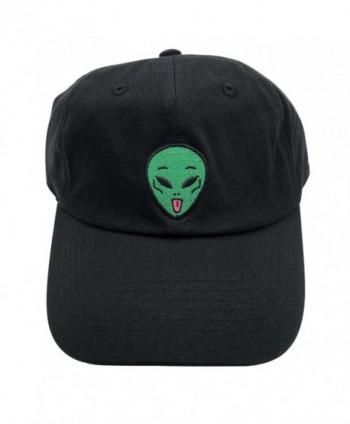 Baseball Aliens Embroidered Adjustable Snapback in Men's Baseball Caps