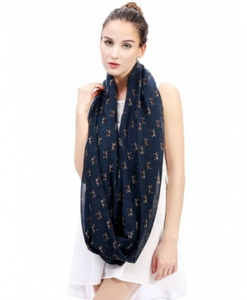 Lina Lily Beagle Infinity Lightweight in Fashion Scarves