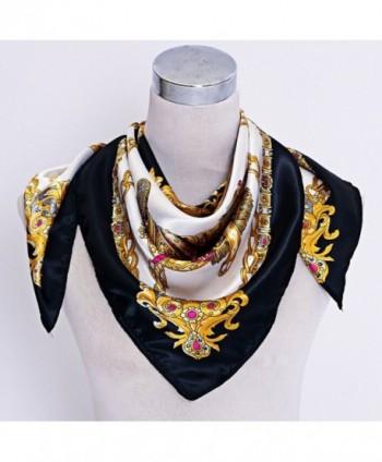 Sanwood Womens Neckerchief Headdress Black 13543