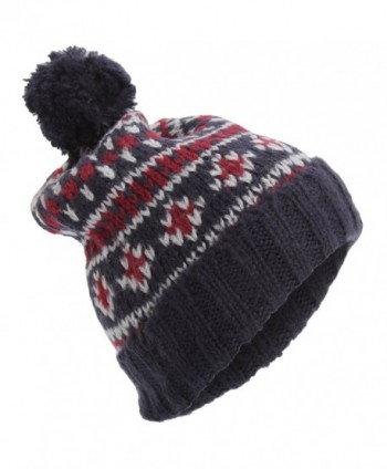 Universal Textiles Brushed Fairisle Pattern in Men's Skullies & Beanies