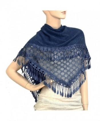 Falari Women Triangle Fringes Polyester