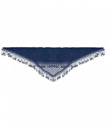 Falari Women Triangle Fringes Polyester in Fashion Scarves