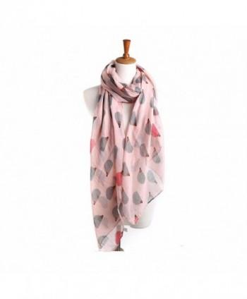 DEESEE(TM) Women Ladies Hedgehog Pattern Long Scarf Warm Wrap Shawl - Pink - CI12N1RXDR5