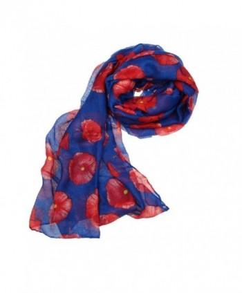 Willsa Fashion Poppy Flower Ladies