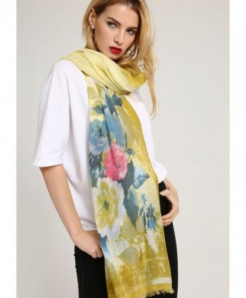 GERINLY Summer Scarfs Chinensis Womens