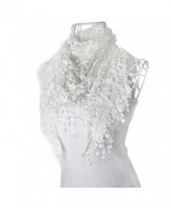 Singleluci Fashion Burntout Triangle Mantilla in Fashion Scarves