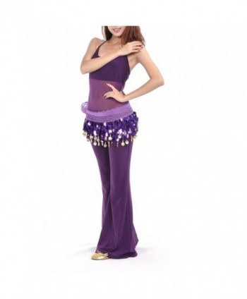 BellyLady Belly Paillettes Christmas Idea Purple