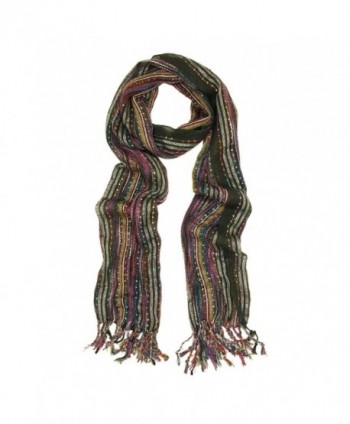Unique Multi Color Trendy Glitter Scarf - Different Colors Available - V2 - C5118C6EN8B