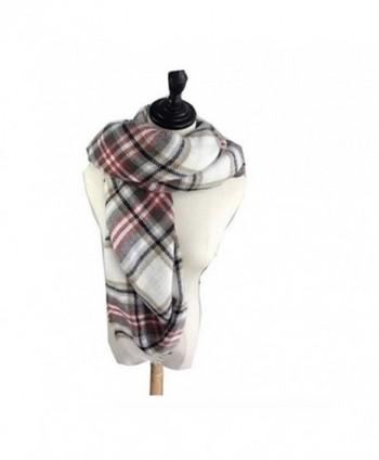 Womens Tartan Scarf Checked Pashmina in Cold Weather Scarves & Wraps