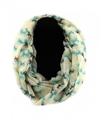 PendantScarf Womens Fashion Animal Infinity