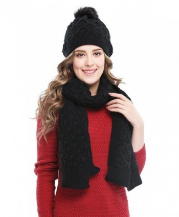 Bellady Womens Knitted Double Layers in Fashion Scarves