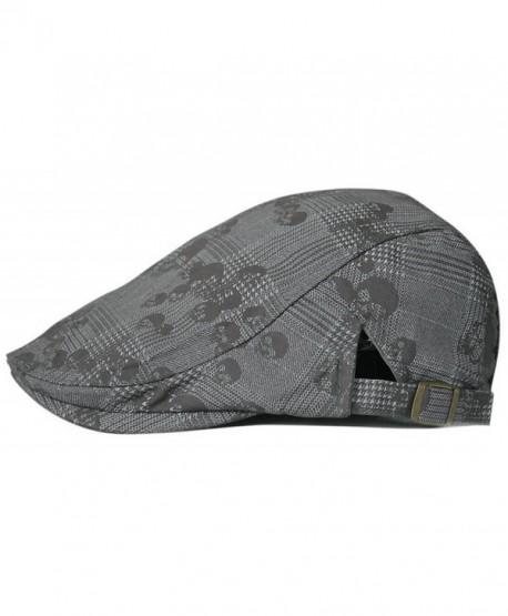 45aa7f2e09c Gumstyle FASHION Men Womens Duckbill Ivy Cap Golf Driving Flat Cabbie  Newsboy Beret Hat Skull -