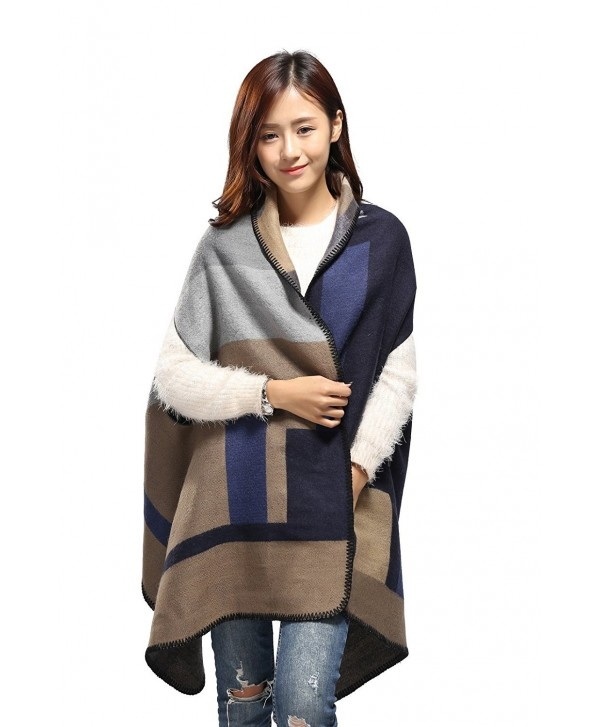 Fashion Infinity Pashmina Cardigans Girlfriend - Geometry / Dark - C712JW3ASH1