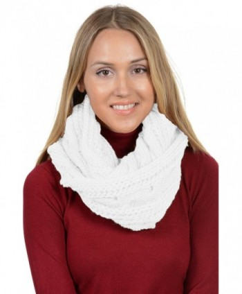Basico Winter Knitted Infinity Various in Fashion Scarves