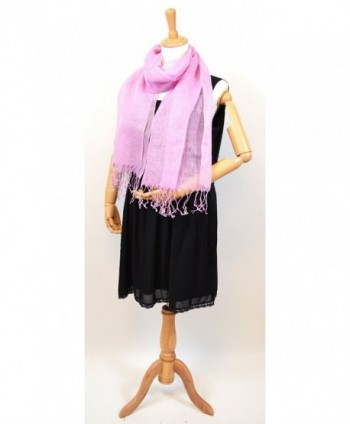 NEW COLORS Womens Natural Violet in Fashion Scarves