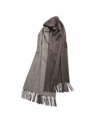 Large Winter Pure Cashmere Shawl in Fashion Scarves