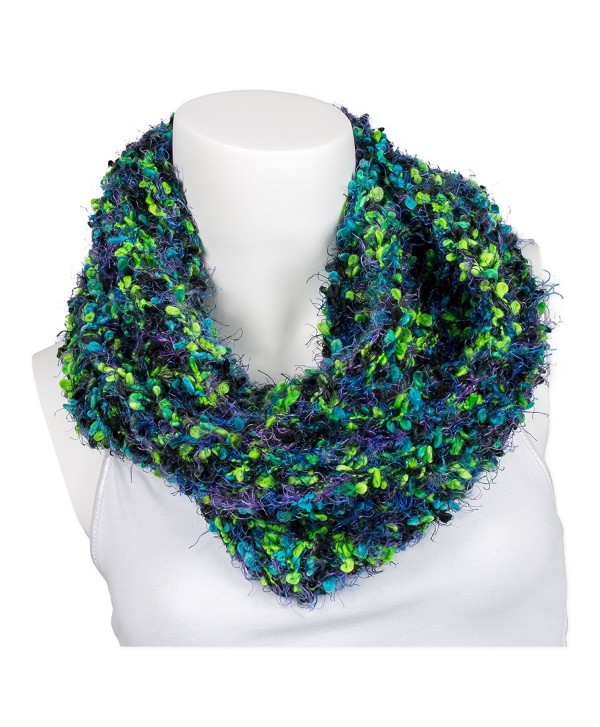 Snoozies Womens Thick and Soft Winter Knit Infinity Scarf - Calypso - Lime Calypso - CO127DHLAJD