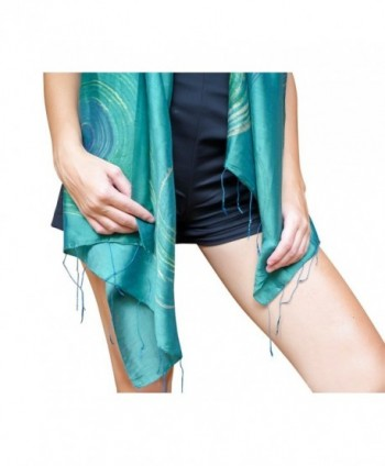 Wrappable Silk Handmade Scarves Wrap