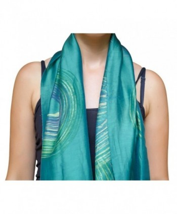 Wrappable Silk Handmade Scarves Wrap in Fashion Scarves