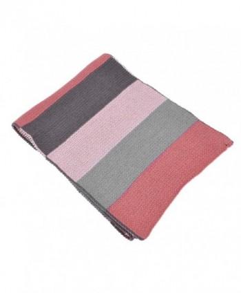 Womens Striped Tri Tone Colored Winter