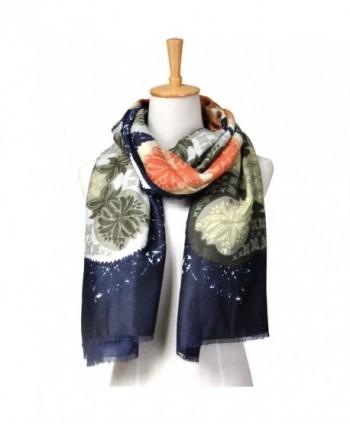 Shokim Womens Fashion Floral Oblong