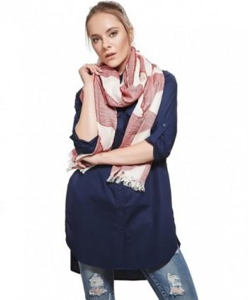 Ladies Lightweight Geometric Fashion Scarves