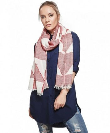 Ladies Lightweight Geometric Fashion Scarves in Fashion Scarves