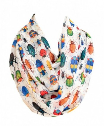 Etwoa's Bugs Infinity Scarf Circle Scarf Loop Scarf - Multicolored - C2186RL2TW8