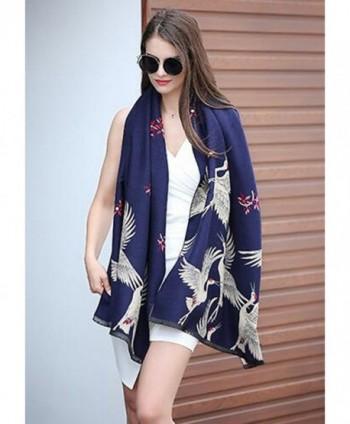 BOSBOOS Blanket Japanese Pattern Winter in Fashion Scarves