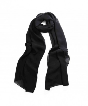 ZESTILK Scarfs for Women Pashmina Scarves Shawl and Wraps Polka Dots - Black - CO188G8G0QX
